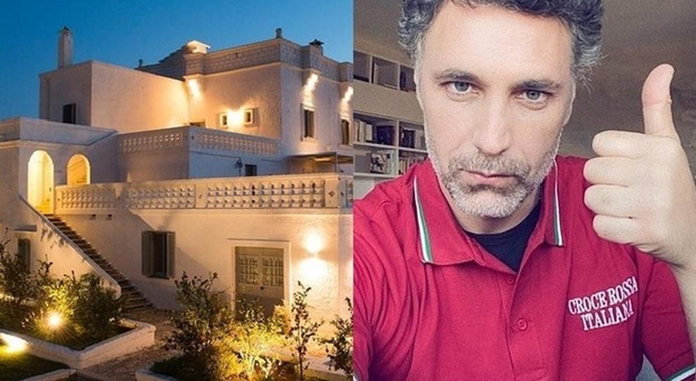 """Raoul Bova: """"La mia masseria in Puglia a disposizione della Croce Rossa"""""""