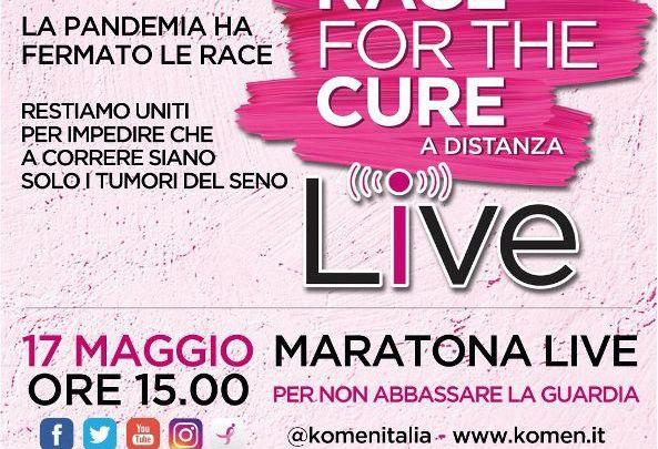 A Bari la staffetta live per Race of the Cure: la lotta ai tumori del seno non si ferma