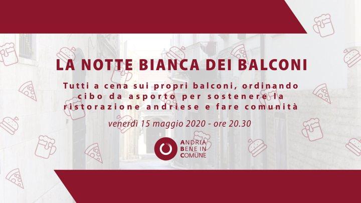 Notte bianca dei Balconi: la bella iniziativa promossa da Andria Bene in Comune