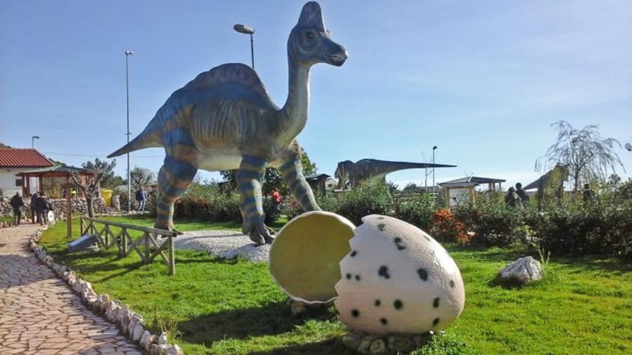 Il Jurassic Park più grande in Italia è a Borgo Celano (Fg)