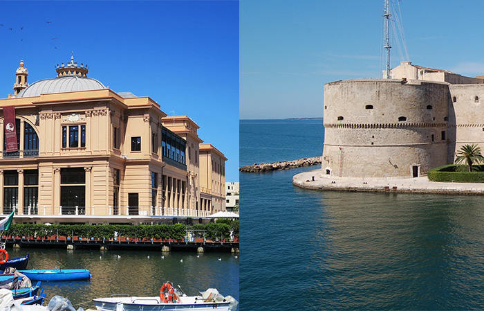 Bari e Taranto finaliste pugliesi per la Capitale Italiana della Cultura 2022