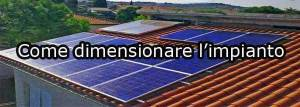 Dimensionare impianto fotovoltaico con pompa di calore