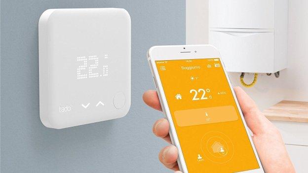 tado termostato, valvole termostatiche e climatizzazione intelligente