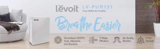 Levoit purificatore aria HEPA