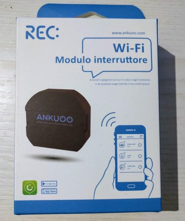 Interruttore WiFi Ankuoo REC
