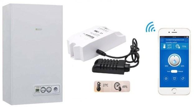 Sonoff termostato caldaia   Sonoff TH16 manuale e istruzioni