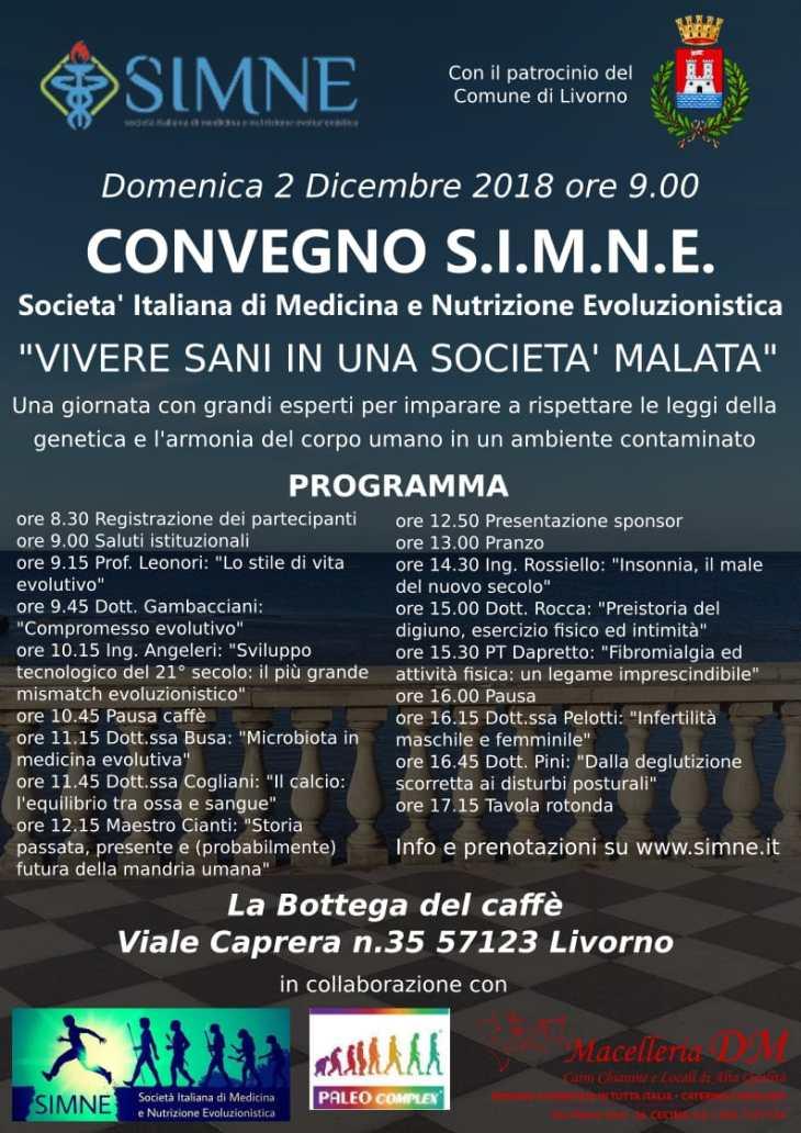 Convegno SIMNE Livorno