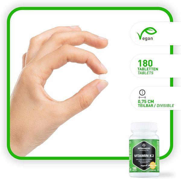 Vitamaze® Vitamina K2 MK-7 200µg