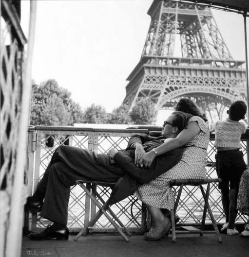 Willy Ronis, Le Bateau Mouche, 1949