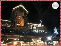 Chalet food - Marché de Noël aux Champs Elysées