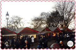 Marché de Noël a Montmartre