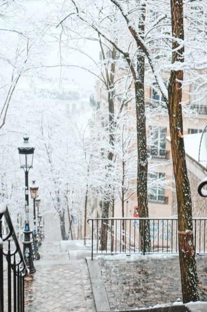 Paris - @ParisAMDParis - Butte Montmartre - 10 feb