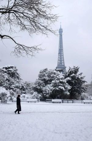 Paris - @ParisAMDParis - Tour Eiffel - 10 feb