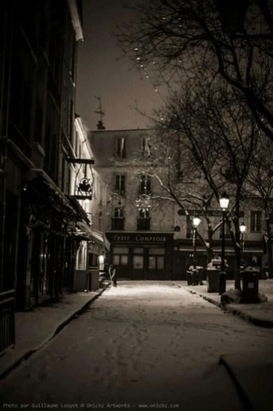 Paris - @ParisAMDParis - place du Tertre - 7 feb