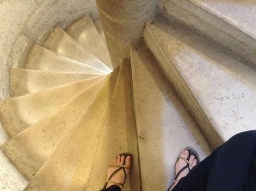 Scale a chiocciola Notre Dame