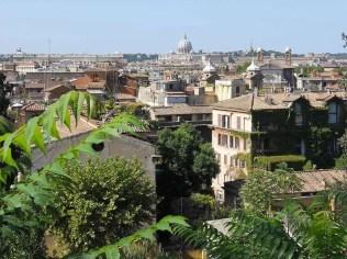 vista dal Pincio Roma