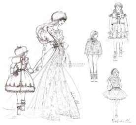 Annalisa Colonna - Bozzetti bambina + donna