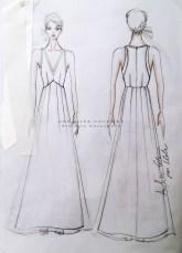 Abito su misura per Ilde - Custom wedding dress Annalisa Colonna lw
