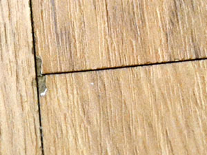 laminate flooring problems laminate micro chipping
