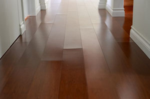 peaking laminate floor