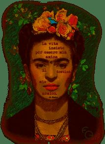 Frida Khalo - Graphics: Francesco Giannotti