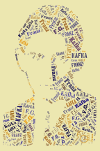 Franz Kafka - Graphics: Francesco Giannotti