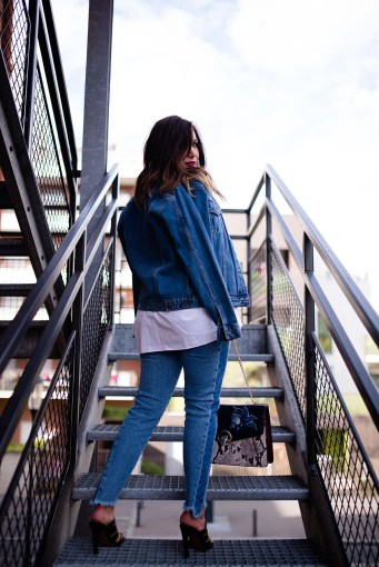 denim outfit blog mode