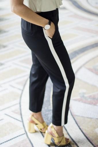 jogging-a-bandes-zara-noir-et-blanc