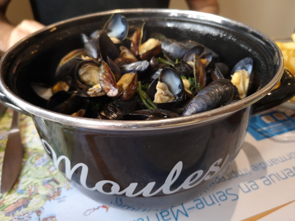 Moules New Windsor Étretat