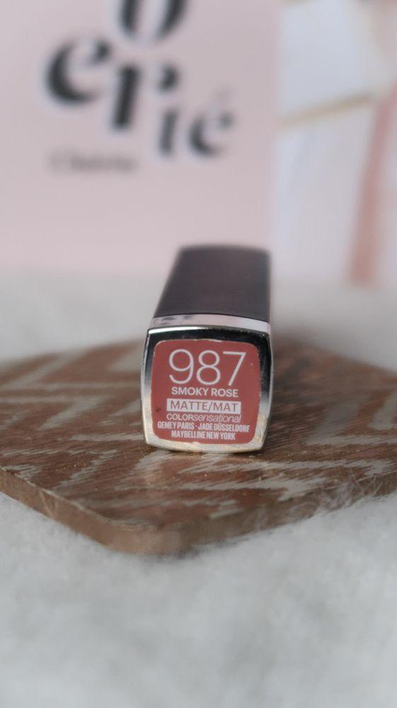 987 smoky rose maybelline