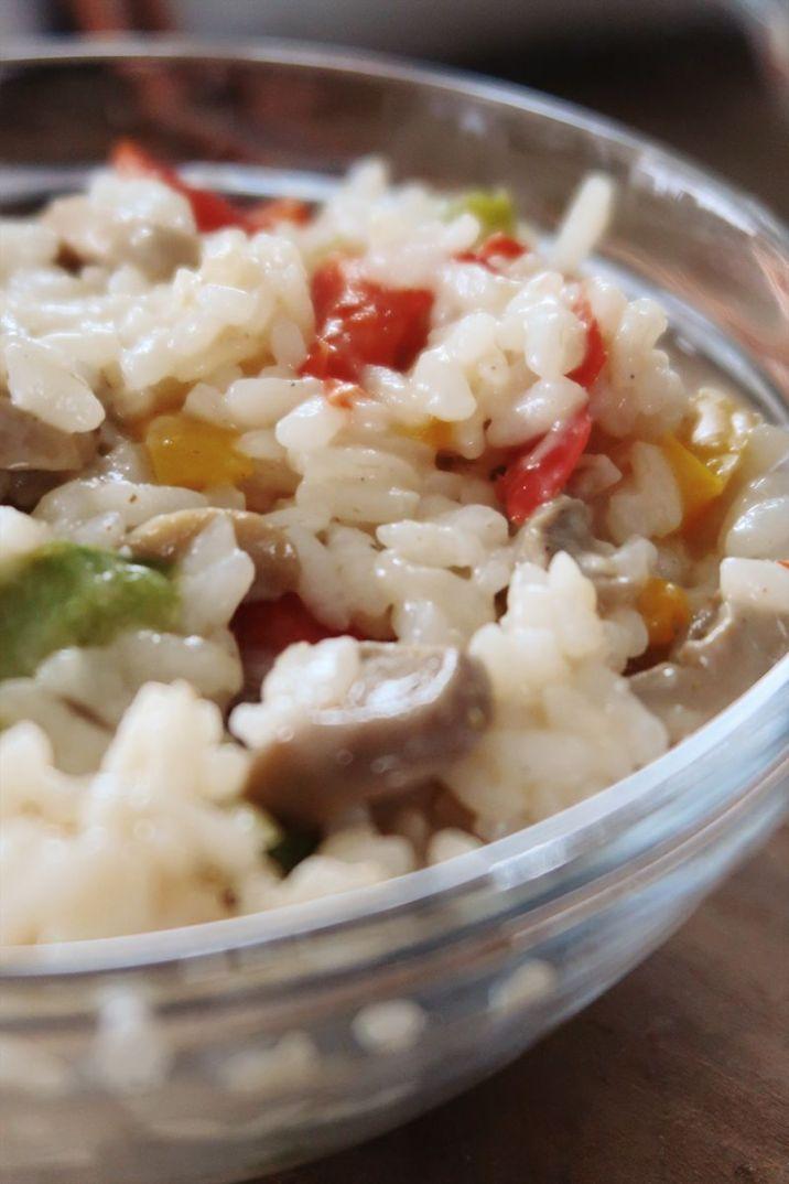 risotto aux légumes sans sucre