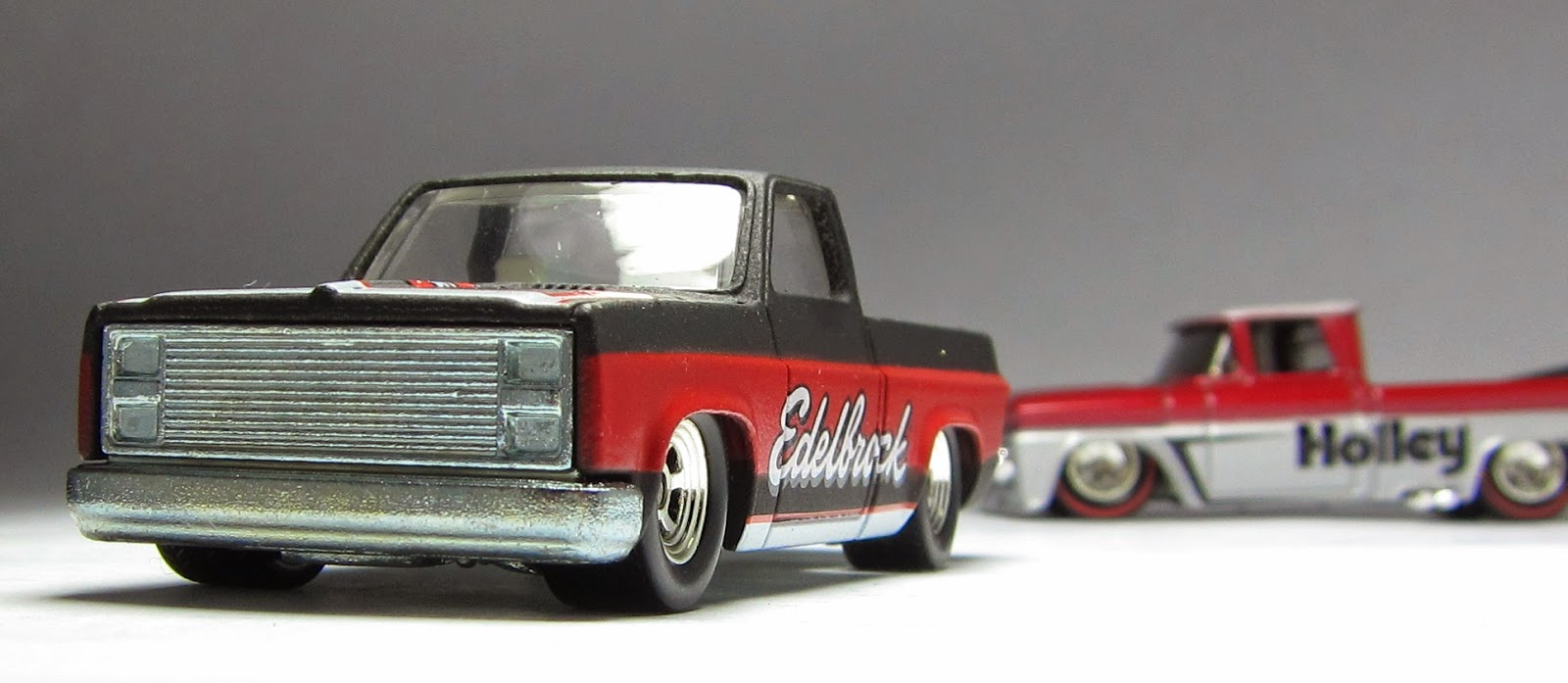 20444ee52f Cool is Cool is Cool: Hot Wheels Slick Rides '83 Silverado & Custom '62  Chevy Pickups…
