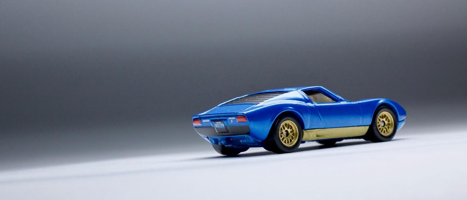 A Complete Look At The Matchbox Lamborghini Miura With Its Designer