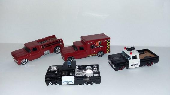 police and ambulance