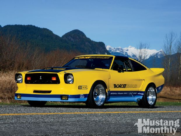 mump-1102-01-o+1978-monroe-handler-ford-mustang-ii+front-driver-side-view