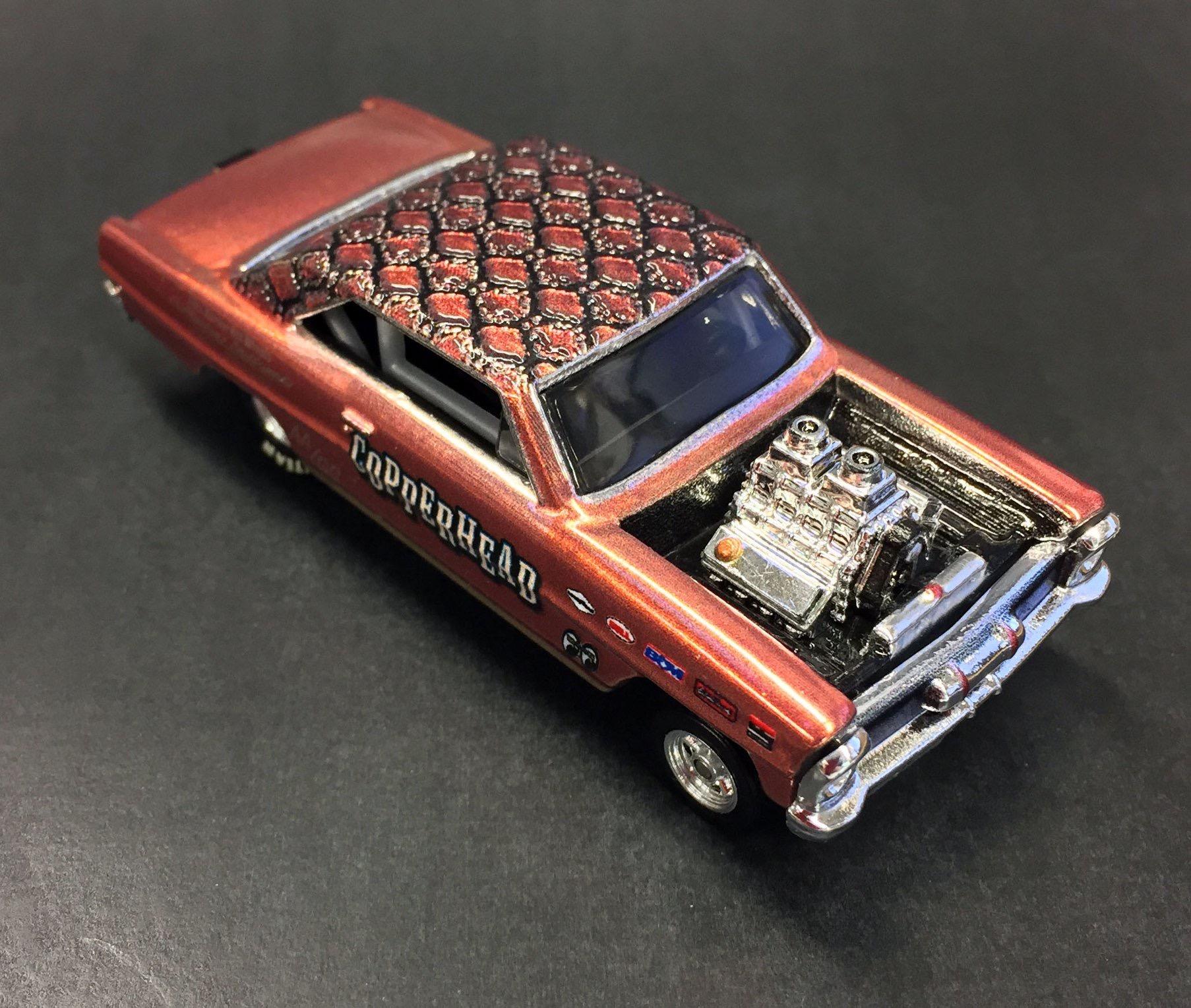 You gotta check out the Hot Wheels '66 Super Nova Gasser