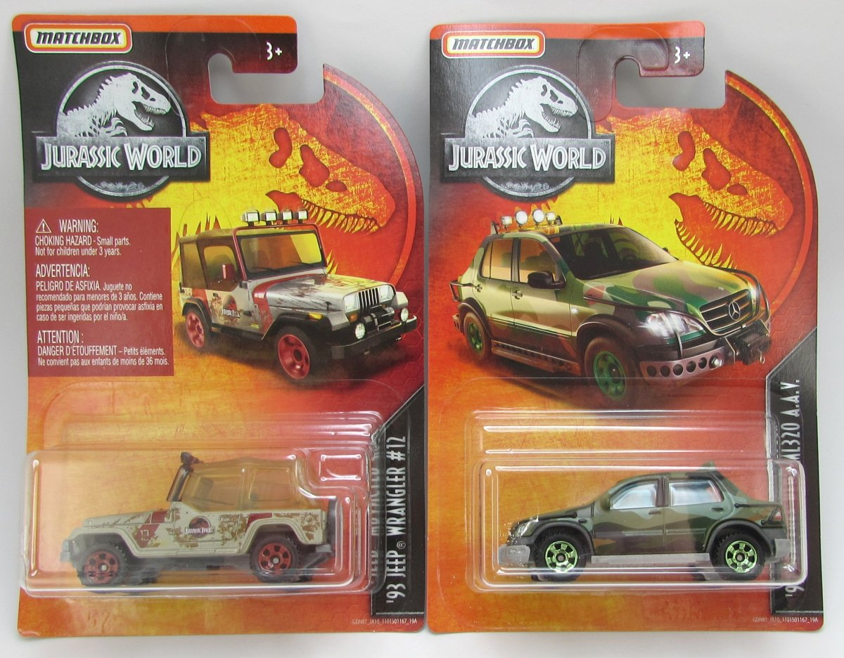 Ford Explorer Limited >> Two new Matchbox Jurassic World models for 2019, by David Tilley – theLamleyGroup