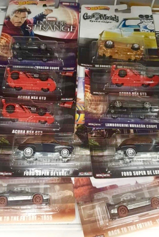 Check out the latest Hot Wheels Replica Entertainment showing up in