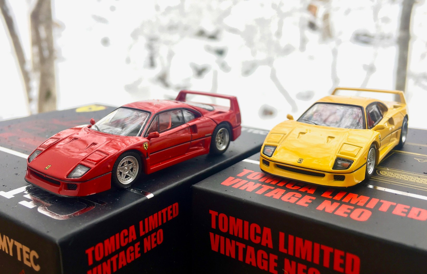 The New Tomica Limited Vintage Ferraris Hit Japan Booster This Morning Here Is The Link And The Details Thelamleygroup