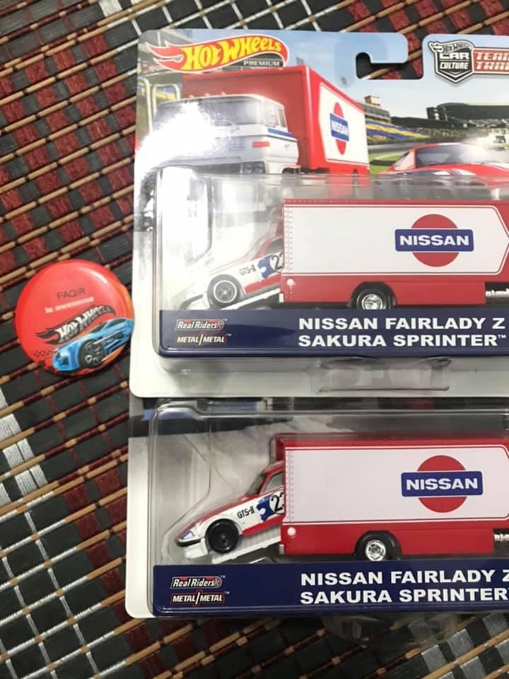 HOT WHEELS 2019 TEAM TRANSPORT Nissan Wheel variation Australia Only