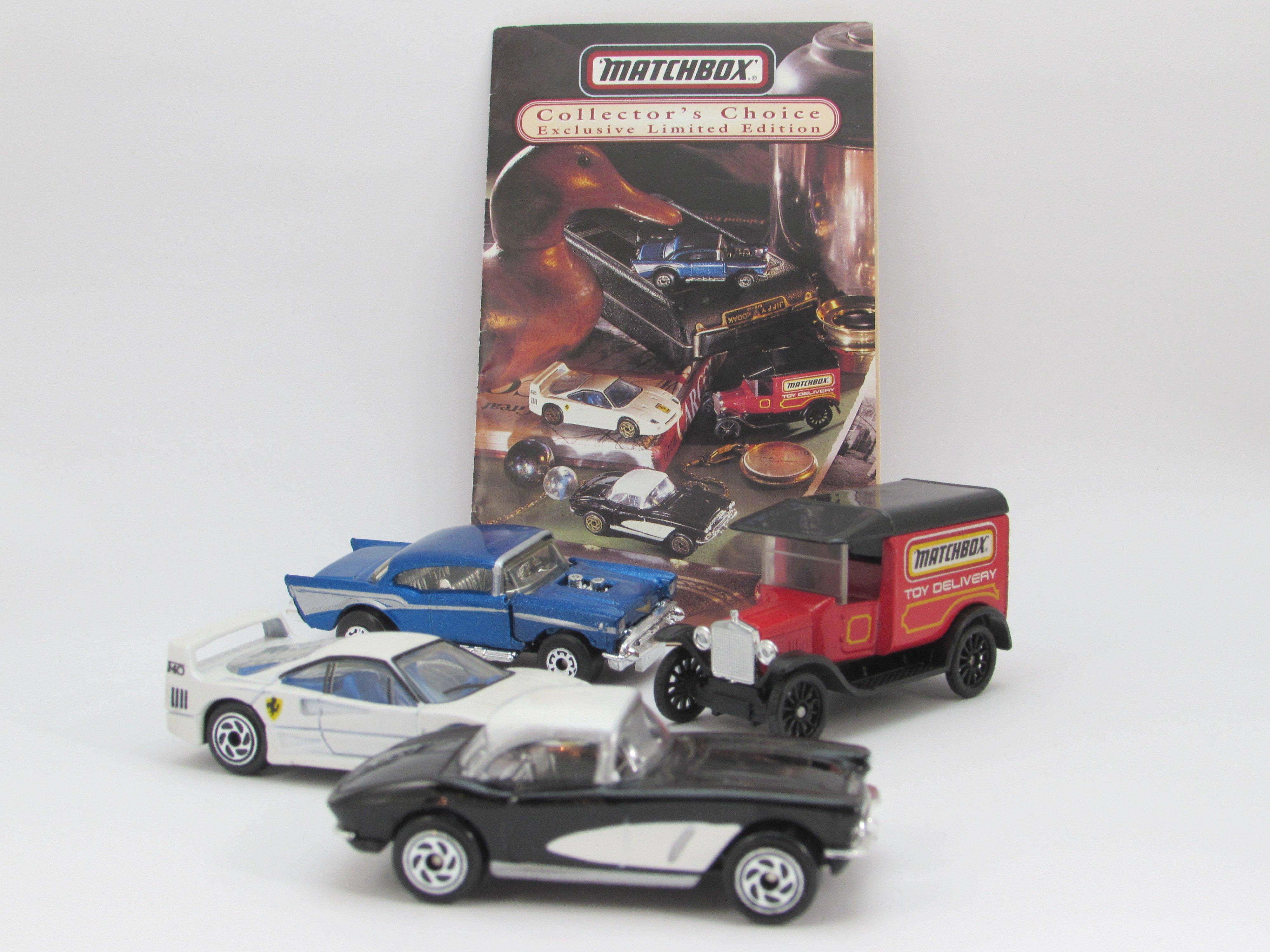 Matchbox Toys Catálogo De 1986