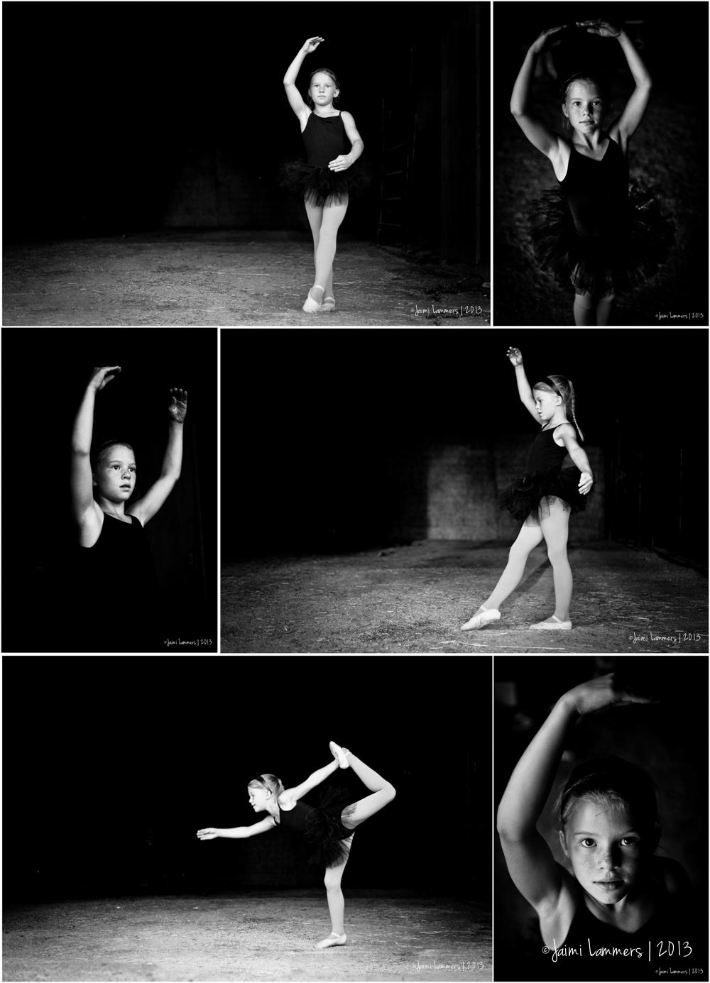 Barn light ballerina