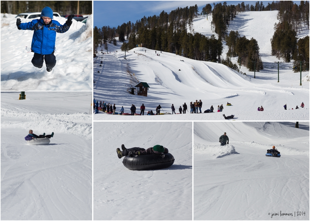 ski tubing collage-2
