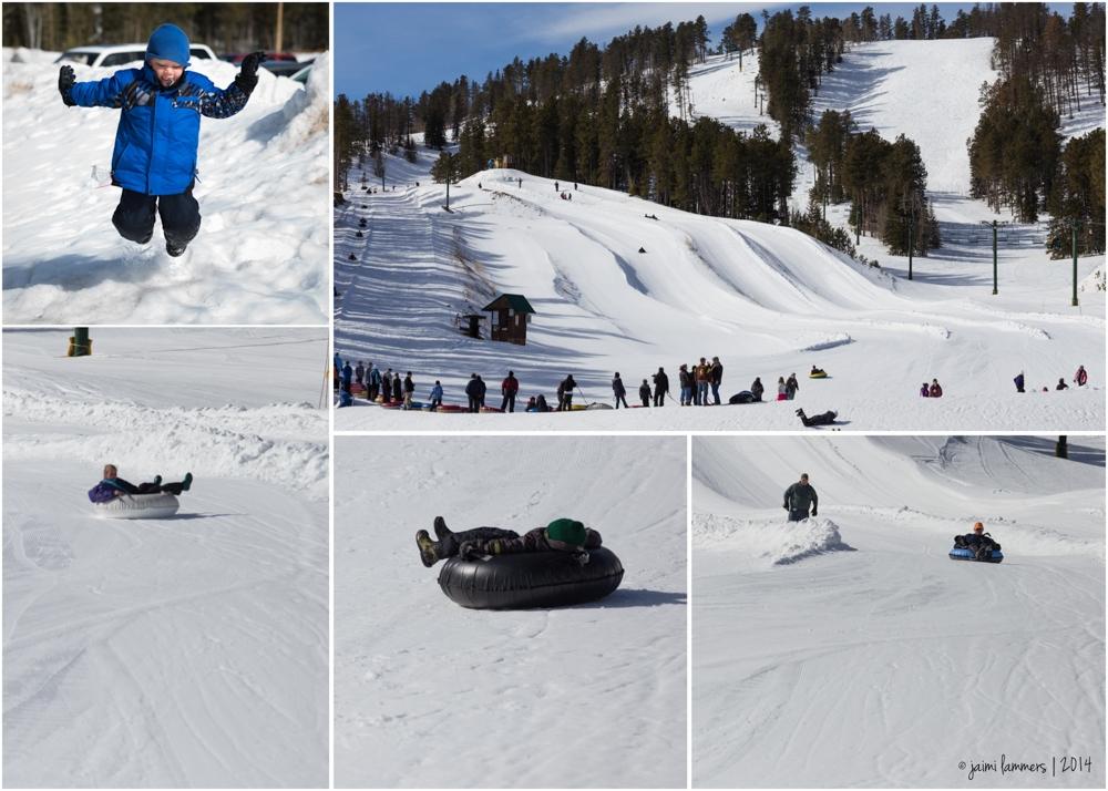 ski tubing collage-2