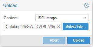 Cara Upload ISO ke Proxmox VE