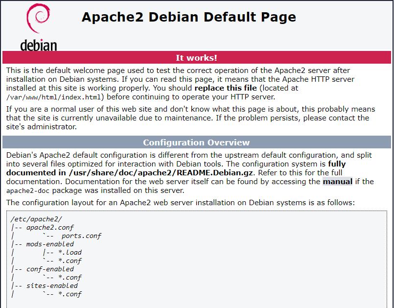 Cara Install Web Server Apache di Debian 10