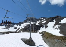 Now the chairlift to the peak