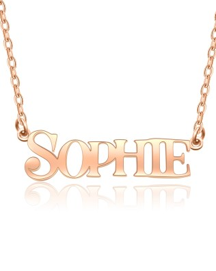 """SOPHIE""Style Name Necklace S925"