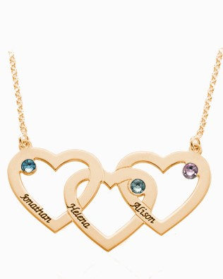 Heart Necklace Silver S925 Rose Gold Plated
