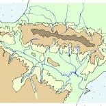 Formación de la cuenca hidrográfica del Ebro